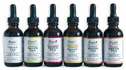 pure inventions green teas